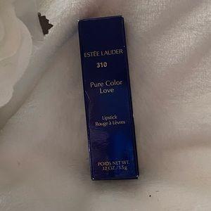 NWT Estee Lauder pure color love lipstick #310